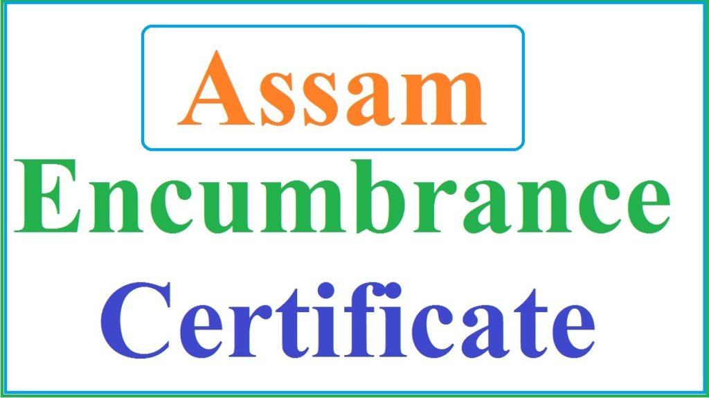 Assam Encumbrance Certificate